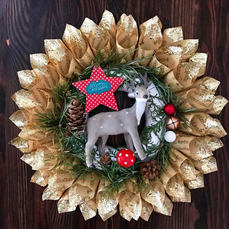 Christmas wreath by Atelier Floristic Aleksandra concept Alexandra Crisan