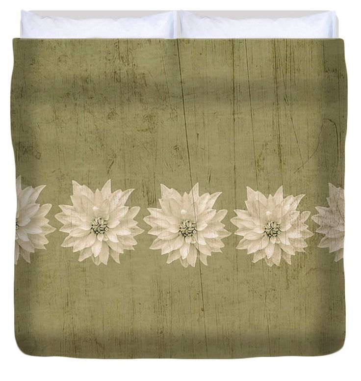 earthy floral duvet coverunique rustic green brown decorrustic home decorshabby chic comforter cover
