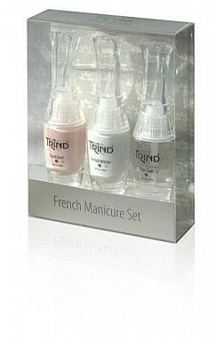 Набор Trind для французского маникюра розовый