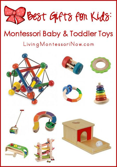 Montessori-friendly toys allow for natural, open-ended learning. They are typically made of wood and other natural materials and are designed for optimal mind- and body development.