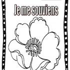 This is a simple and FUN activity for Kids to colour for Remembrance Day/Memorial Day! Great for kids in Core French and Immersion grades 1-2....