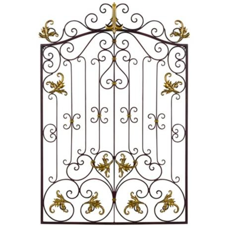 Metal Gate Wall Decor 119 best metal wall art images on pinterest | metal walls, metal