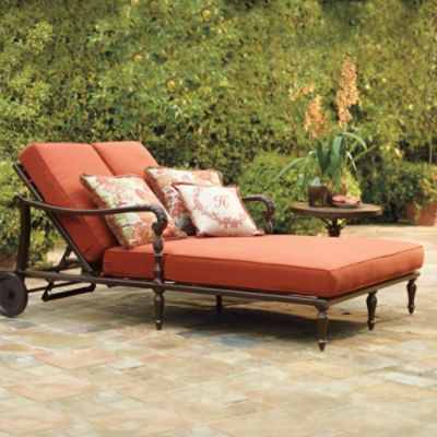Wooden double chaise lounge plans woodworking projects for Alexander rose colonial chaise lounge