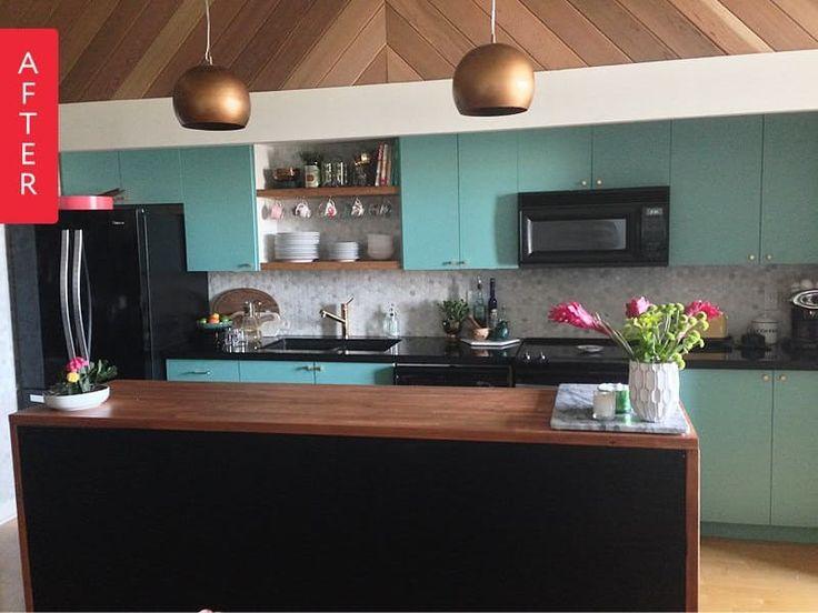 Before & After: A Modern Vintage Loft Kitchen Makeover