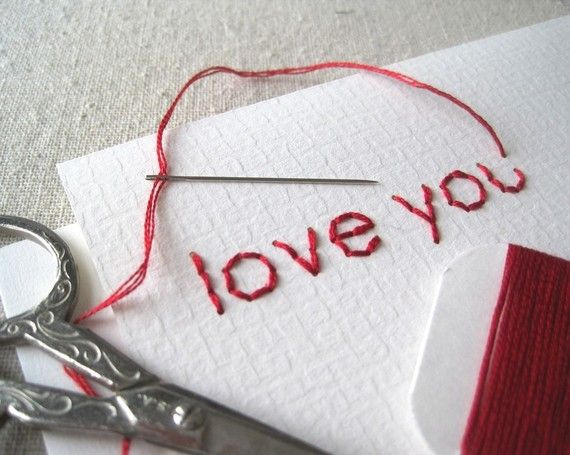 DIY Embroidery Card Kit  5 Charming Cards FREE by CuriousDoodles, $20.00