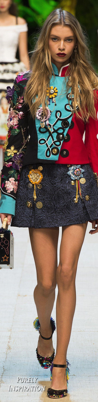 Dolce & Gabbana SS2017 Women's Fashion RTW   Purely Inspiration
