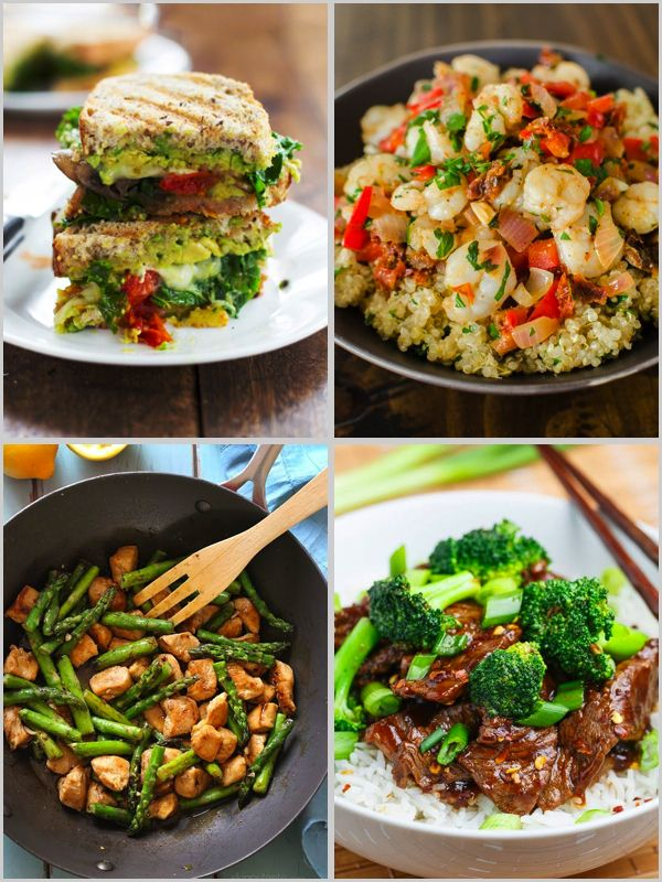 Weekend Fit Tips And Fab List Healthy Dinner Ideas