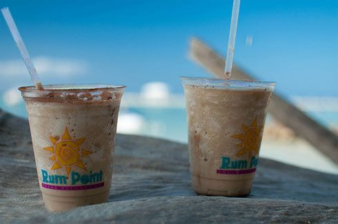 BEST MUDSLIDES EVER. From the Wreck Shop on Grand Cayman at Rum Pointe.