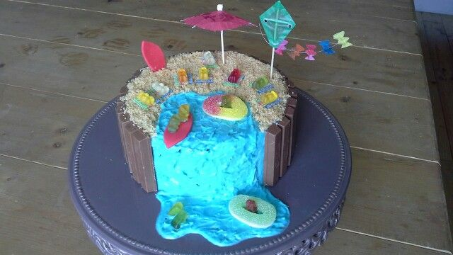 Home made by Laura thema strand feest