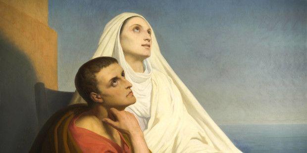 Santa Monica, madre del grande Sant'Agostino di Ippona – Padre e Dottore della Chiesa –, era impegnata a 360 gradi con il figlio, studente brillante ma anche edonista, avendo anche avuto un f…