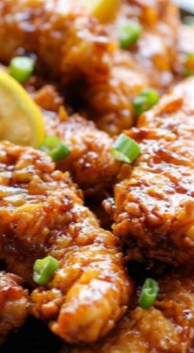 asian lemon chicken tenders chicken tenders lemon chicken asian ...