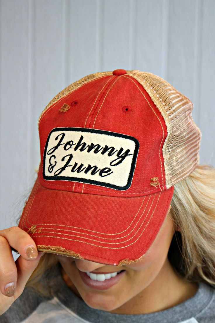 Johnny and June Trucker Hat