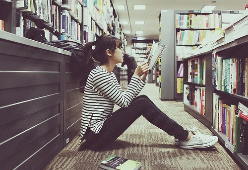 library photo-shoot-ideas  rachel joy baransi... this seems like its' right up your alley