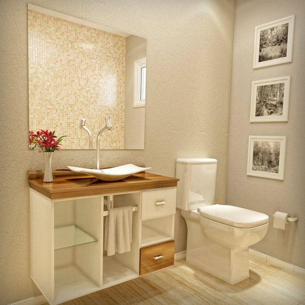 17 melhores ideias sobre Gabinetes De Banheiro no Pinterest  Lavatório duplo -> Armario Banheiro Verde