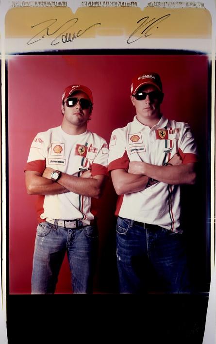Kimi Raikkonen-Pelipe Massa