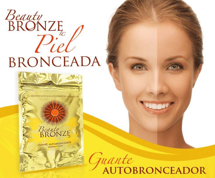 Beauty Bronze el mejor Guante Autobronceador del mercado, pruebalo y disfruta del tono espectacular en tu piel.  Visítanos http://beautybronze.com