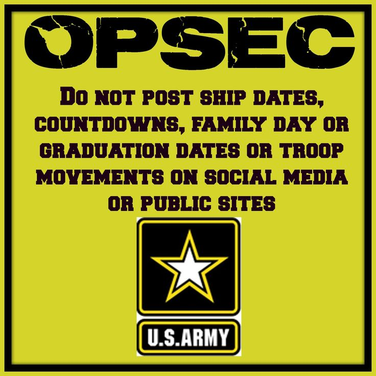 70 Best Operations Security Opsec Images On Pinterest