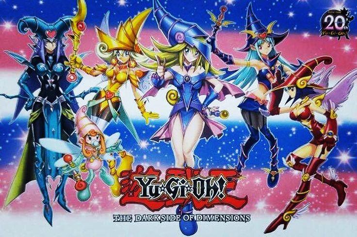 The Beautiful Magician Girl Team Yugioh  -8335