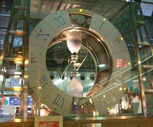 大阪駅中央コンコースにある砂時計