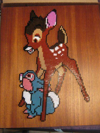 Bambi hama beads by perleshama30