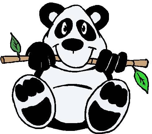 panda bear Clip Art world 4photos animals panda bear