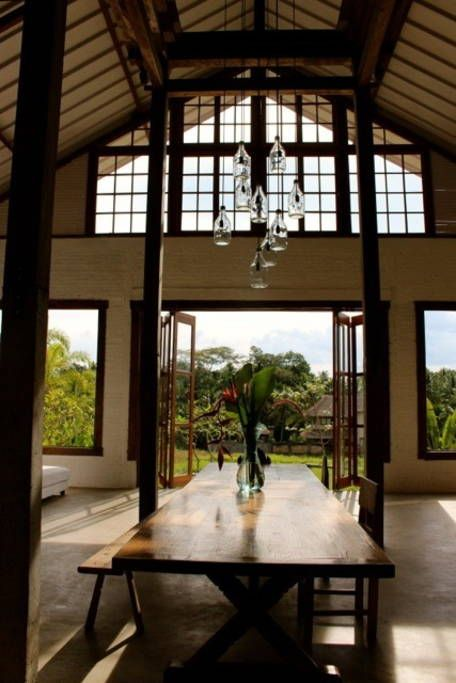 Villa in Ubud, Indonesia. A lofty designer project, this 4000sq foot, 6bedroom tropical dream has been the backdrop to films, music videos and art exhibits. For families, groups & boutique retreats seeking style, comfort and tranquility, we invite you into our island parad...