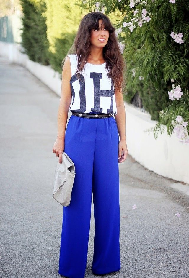 7ab7cb0a461 How to Match Your Palazzo Pants In a Stylish Way
