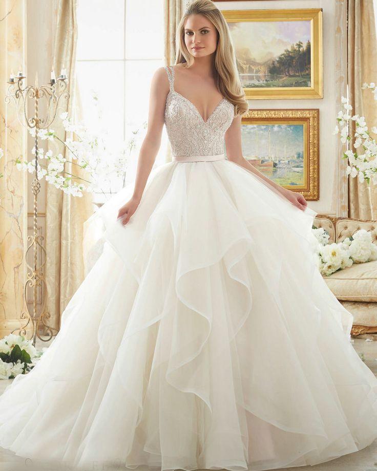 Органза свадебные платья