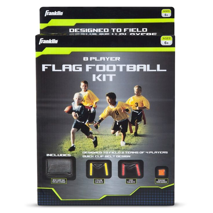 Franklin sports 8 player flag football set youth flag