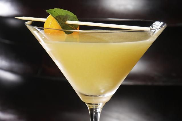 Basil Meets Appletini and It is Good: Perfect for autumn, the Basil North cocktail combines apple and basil in a vodka martini.
