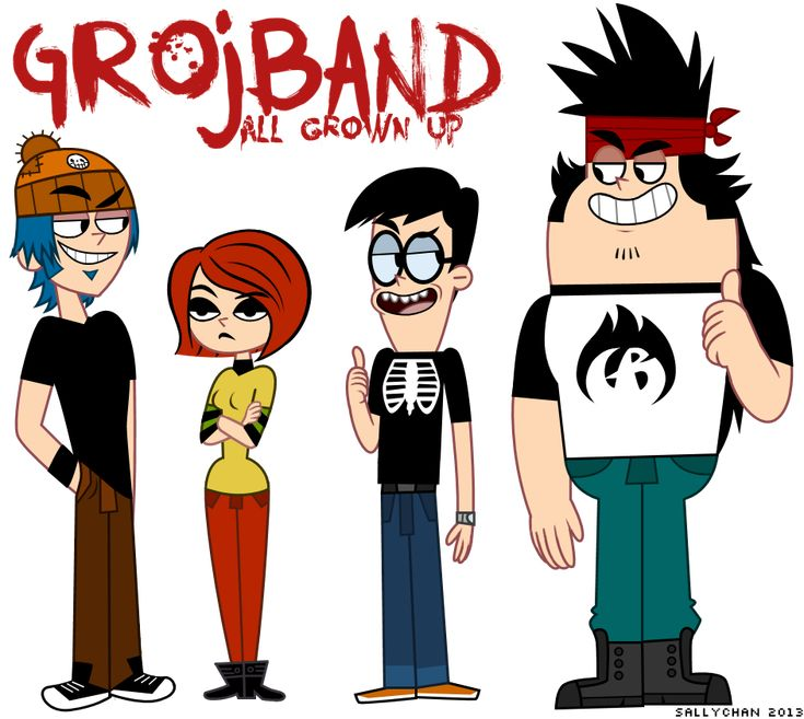 Grojband - All Grown Up