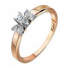 Золотые женские кольца с бриллиантом - купить в ювелирном интернет-магазине…