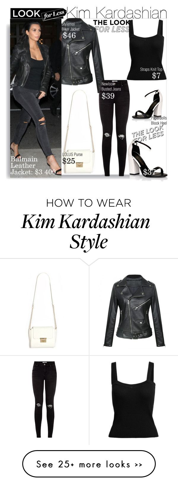 Look For Less With Kim Kardashian By Nfabjoy On