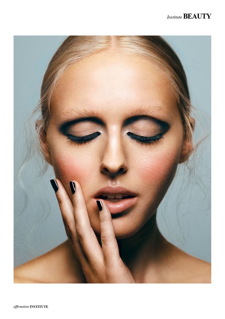 Affirmation - Photographed by Thomas Loevring Model Clara R @Cph Nordic Makeup Kenneth Godskesen