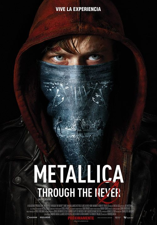 Listos para vivir la experiencia? Metallica: Through The Never La película!