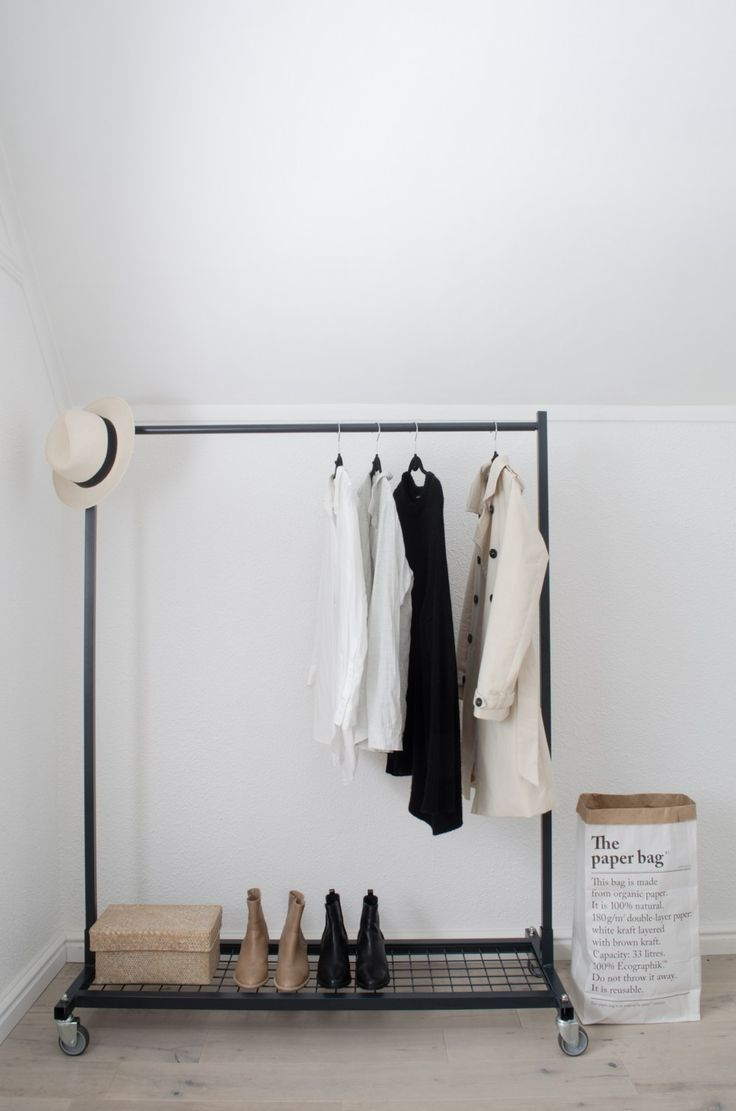 If you love the look and feel of an open wardrobe, consider adding a clothing rail to your room. This industrial rail has a smooth matte finish in charcoal grey, making it suitable for just about a…