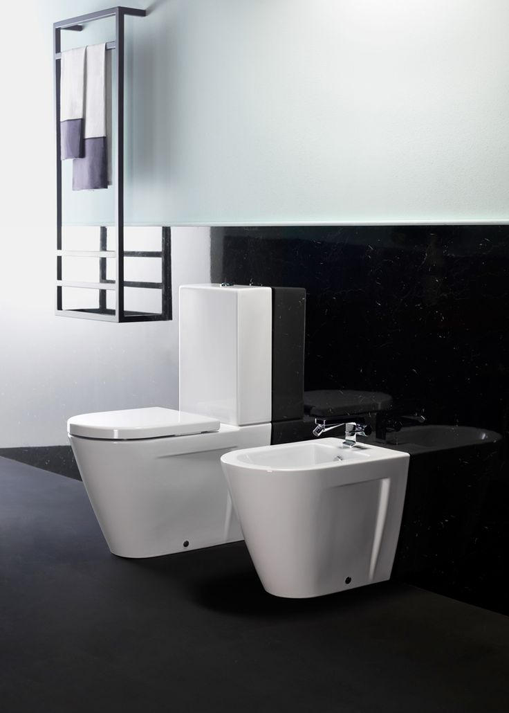 GSI ceramic | The new Norm 68 close-coupled toilet is an important product which adds character, style and elegance to any bathrom. Its dynamic shape really enphasizes the characteristics of the ceramic material used.