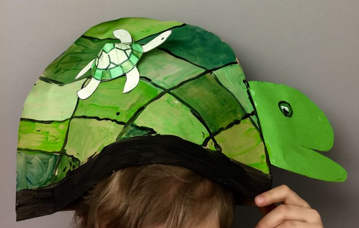 Paper hat. 1st grade