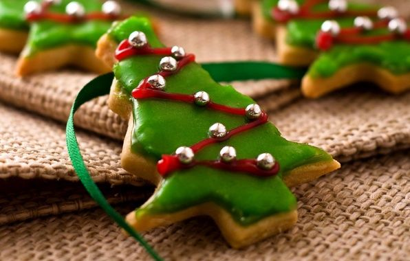 Обои праздник, новый год, рождество картинки на рабочий стол, раздел еда - скачать