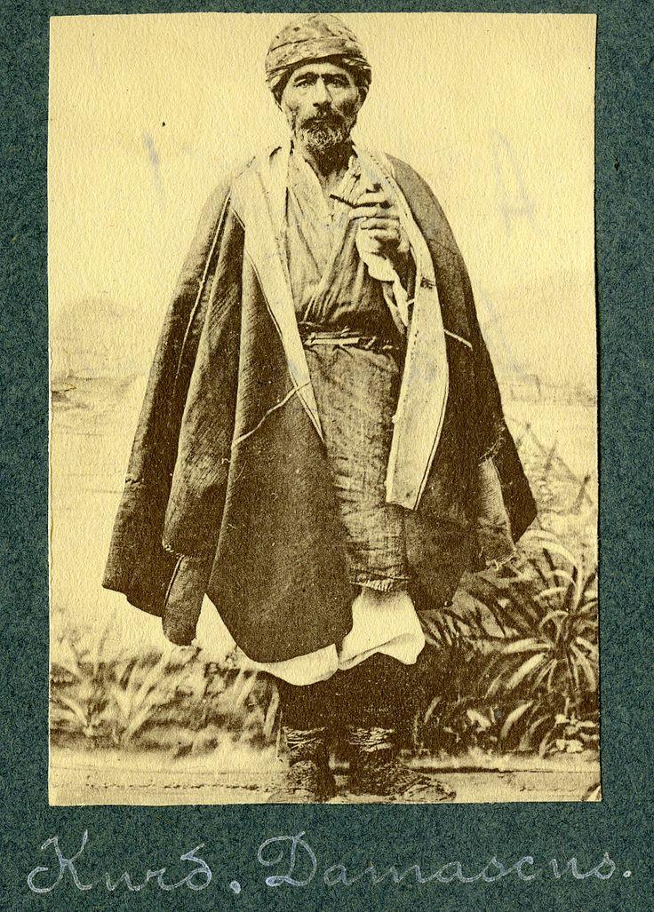 ibrahimhalilbaran: Li der dora 1890an Kurdekî Şamê (Dîmeşqê) (1890'lar. Şamlı bir Kürt)