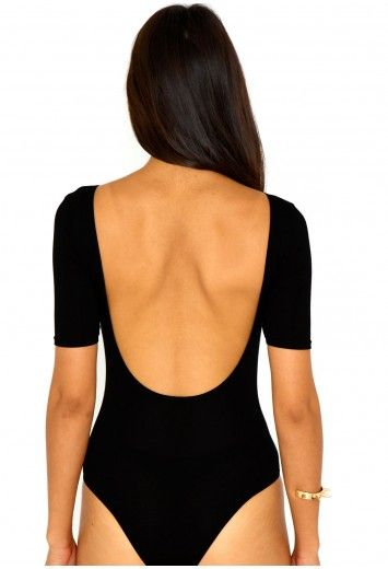 Kinetra Value Open Back Bodysuit - Bodysuits - Missguided
