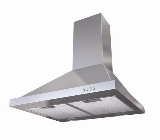 Robinhood RWH3CH9SS & RWH3CH6SS Wall Canopy The powerful attraction of major extraction With up to 1048m3 per hour of air extraction, the Robinhood RWH has the power keep your kitchen smelling sweet.