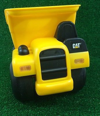 CAT Dump Truck By State Industrial Toy Car  Plastic Construction