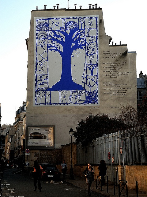 Pierre Alechinsky  Paris - Quartier Latin