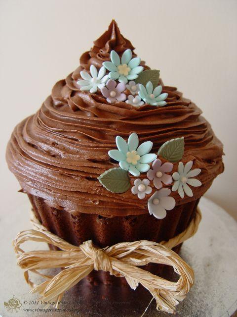 giant cupcake baking instructions