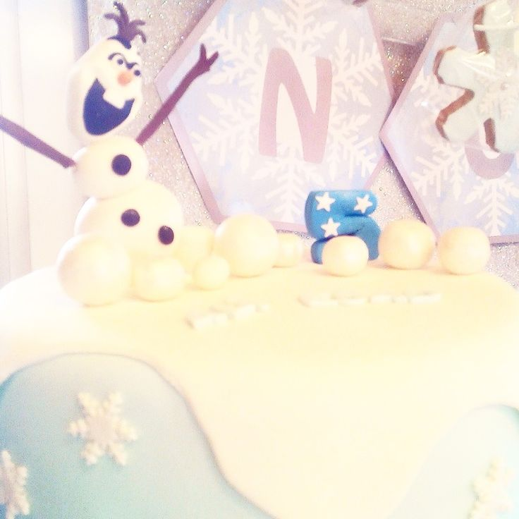 #frozen #olaf #party #birthday