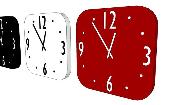 Clock - 3D Warehouse