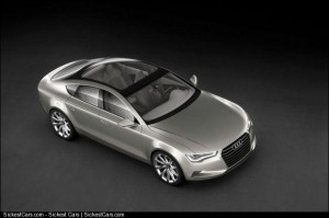 2009 Audi Sportback Concept The Wraps Come Off - http://sickestcars.com/2013/05/19/2009-audi-sportback-concept-the-wraps-come-off/