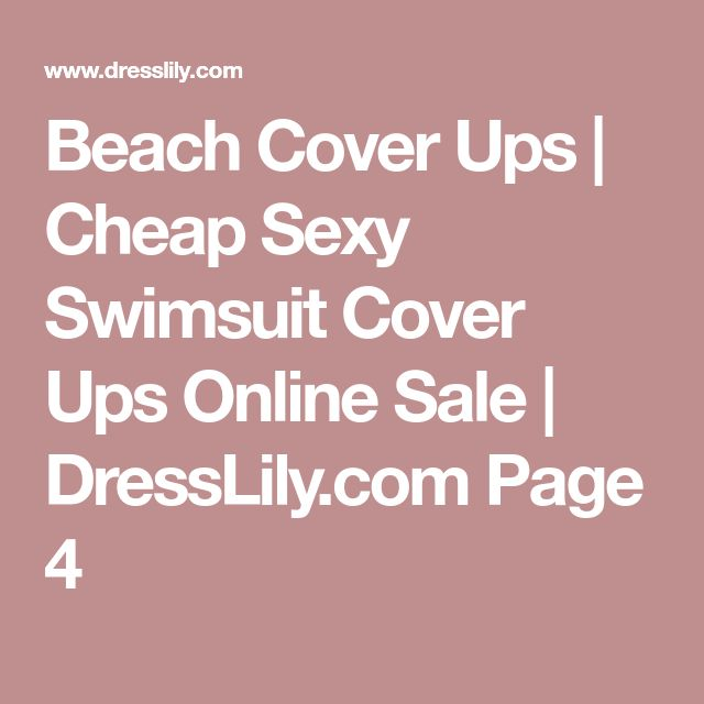 Beach Cover Ups   Cheap Sexy Swimsuit Cover Ups Online Sale   DressLily.com Page 4