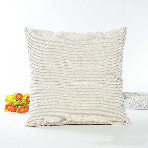 4pcs Decorative Pillow Covers Corduroy